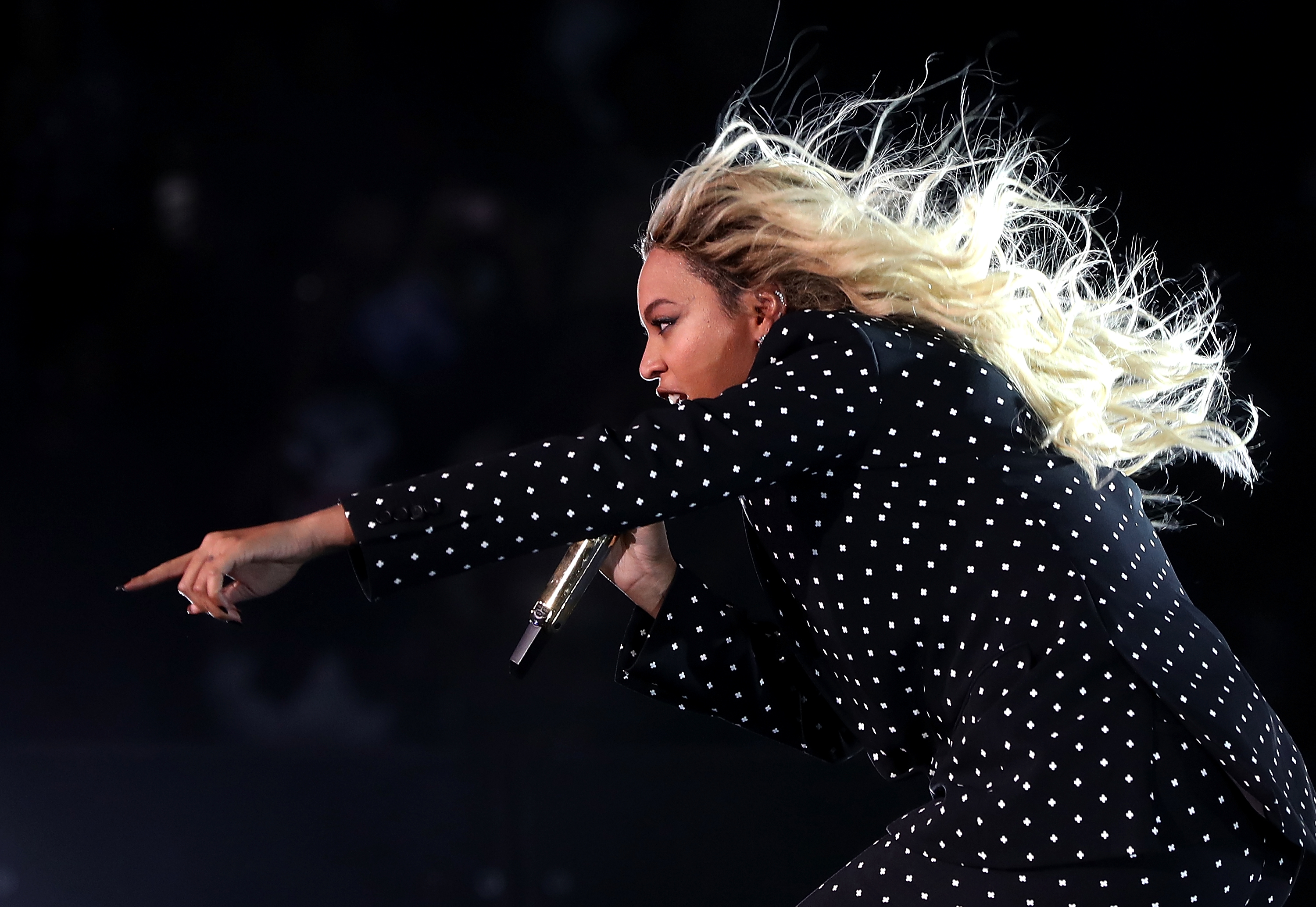 Beyoncé wore the best outfit to meet Hillary Clinton