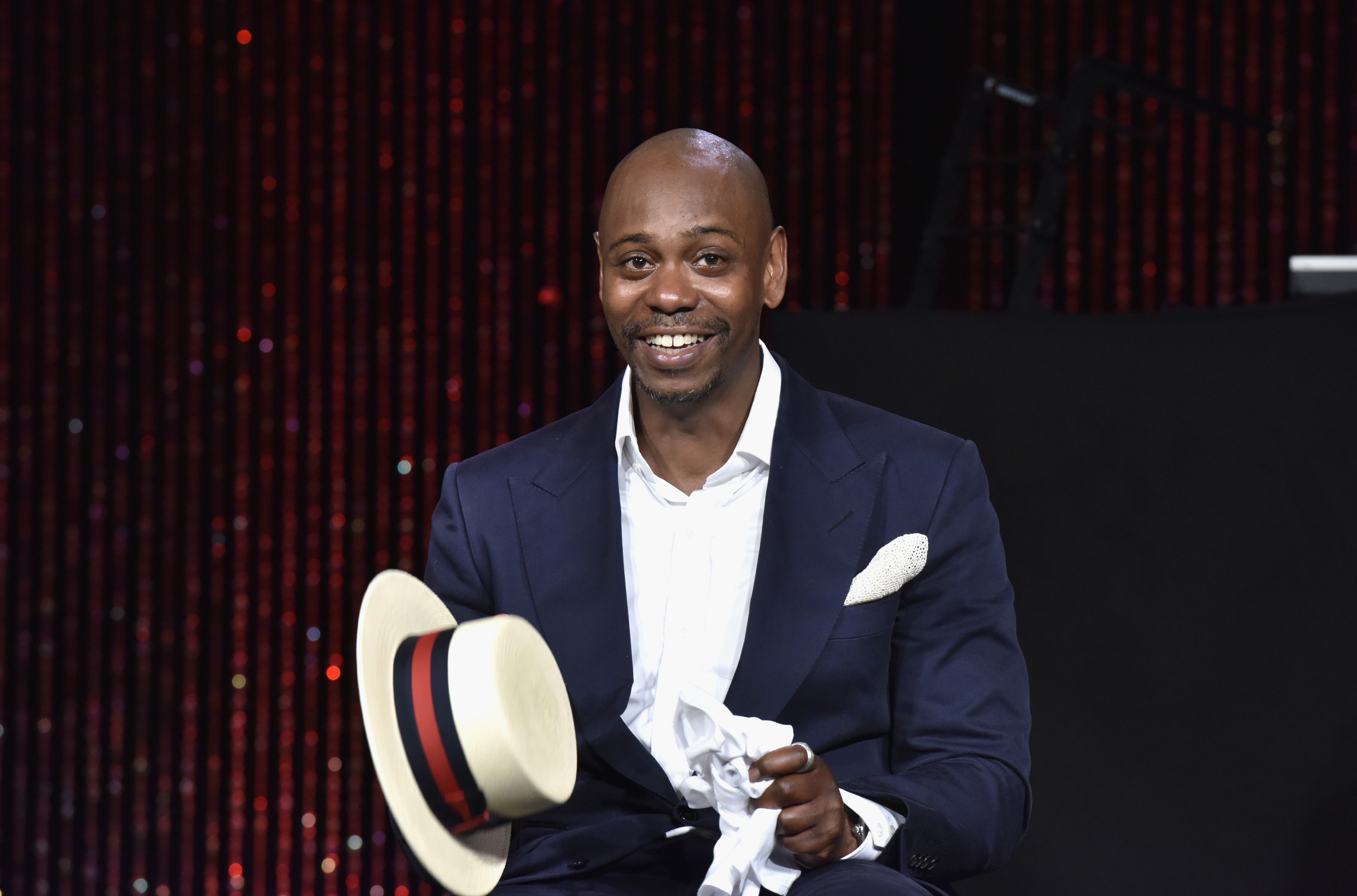 YES! Dave Chappelle is *finally* hosting 'SNL' in case you were wondering if dreams come true