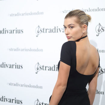 Hailey Baldwin just dyed her hair pink, and it's our favorite look, ever