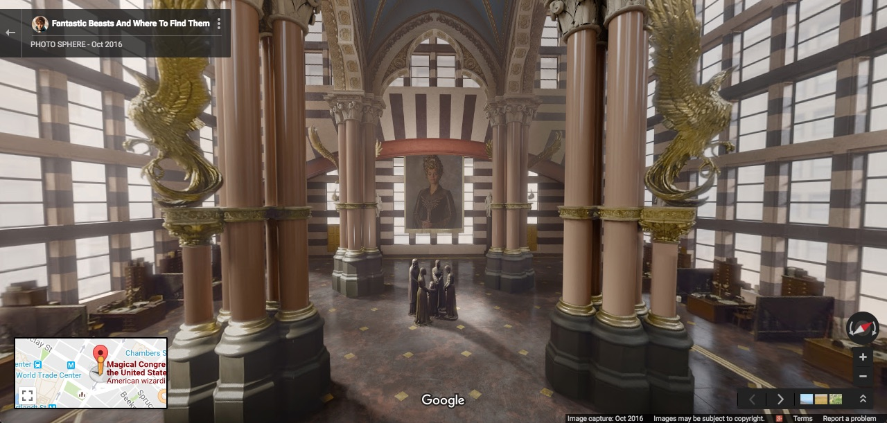 "You can now find ""Fantastic Beasts"" on Google Maps and it is truly magical"