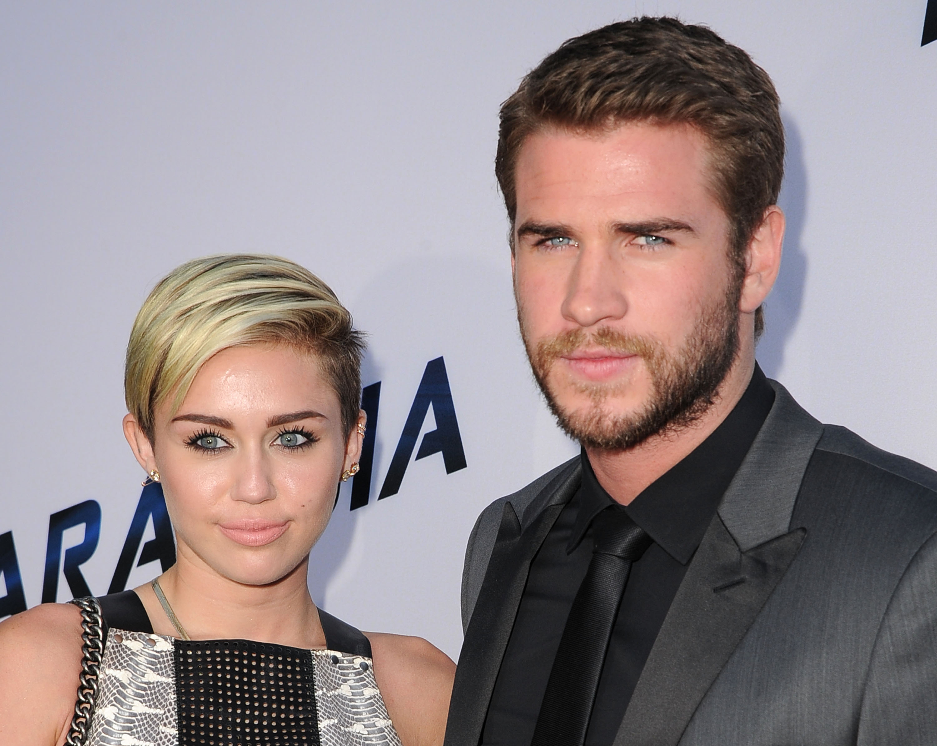 Miley Cyrus and Liam Hemsworth just went on a date, and it looks like a psychedelic dream