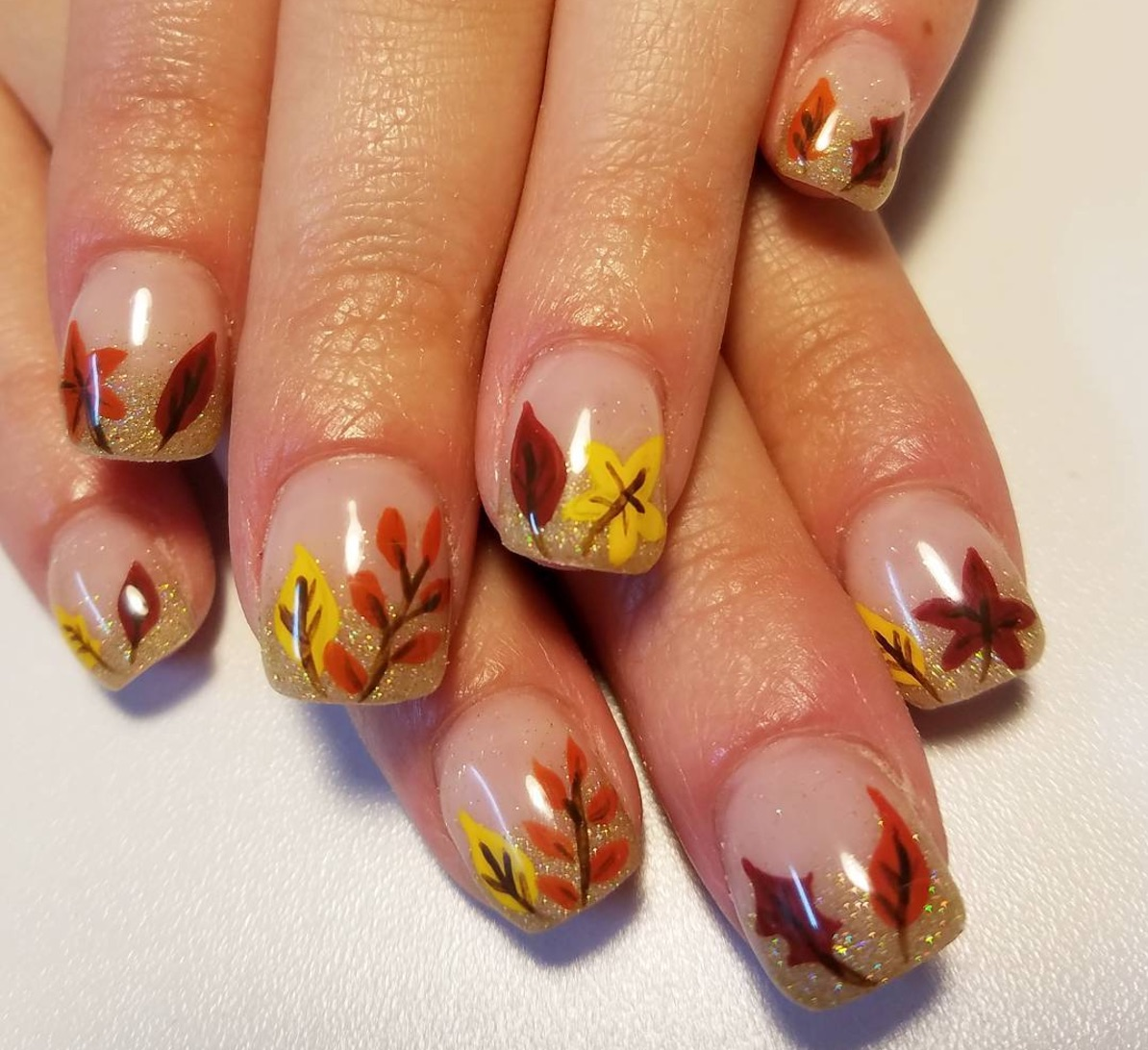 13 best Thanksgiving manicures (because yes, they're a thing)