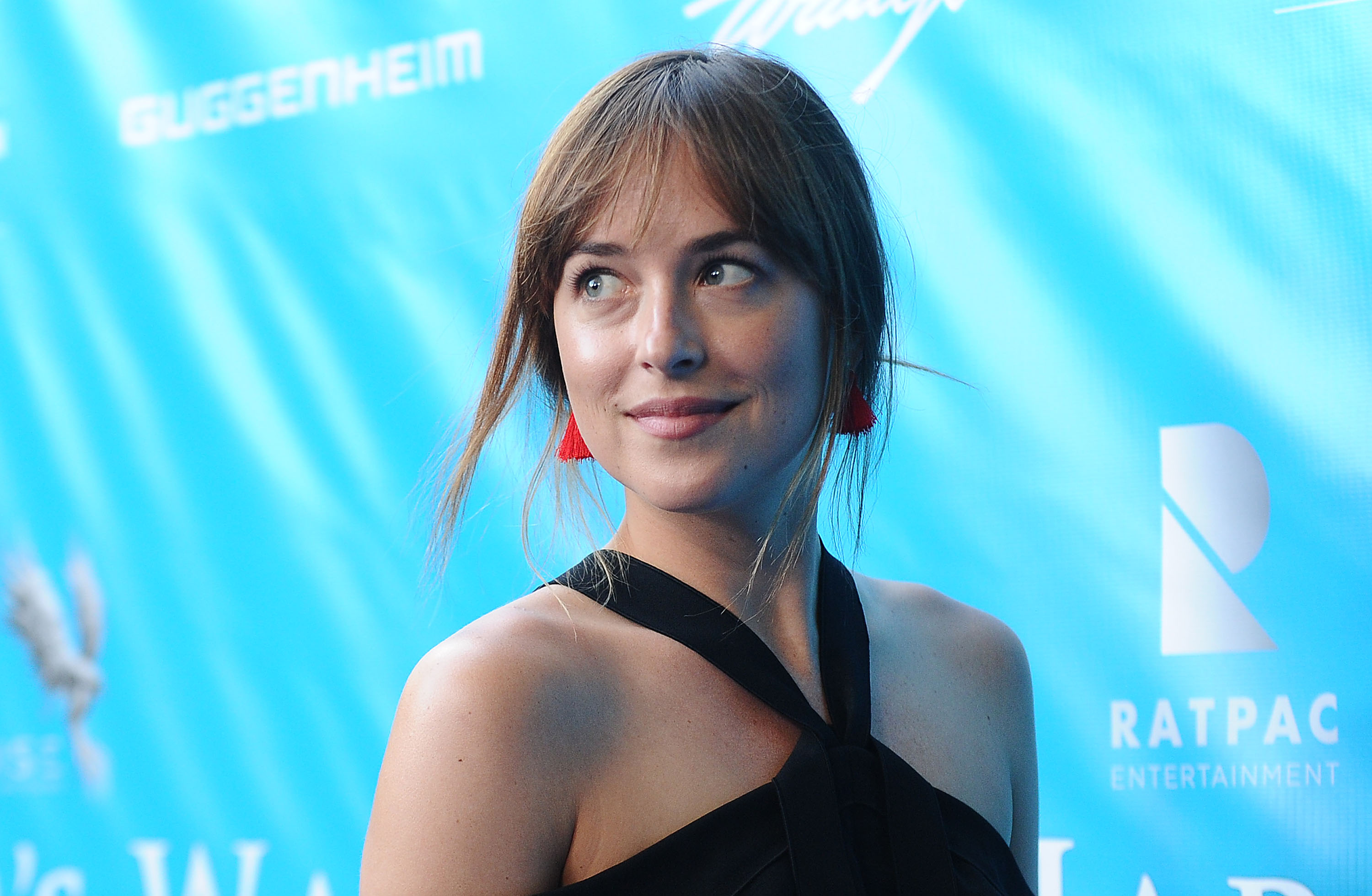 Dakota Johnson's airport style is perfectly on point