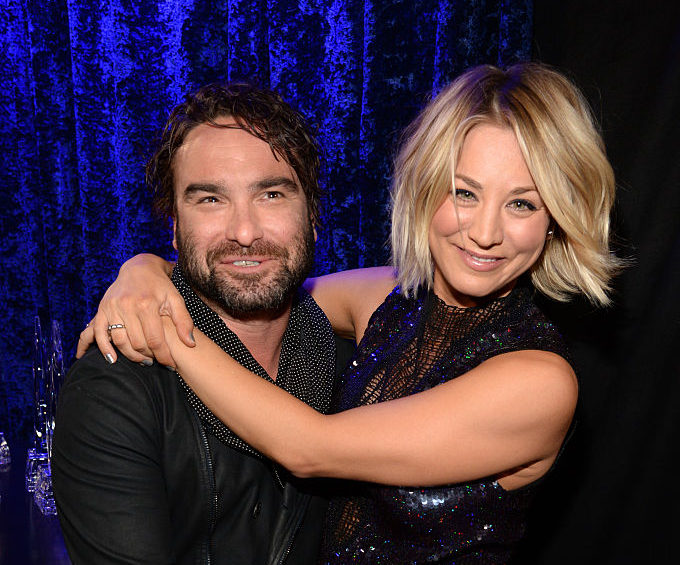 Whoa! Kaley Cuoco just posted a borderline NSFW pic with her ex and co-star Johnny Galecki