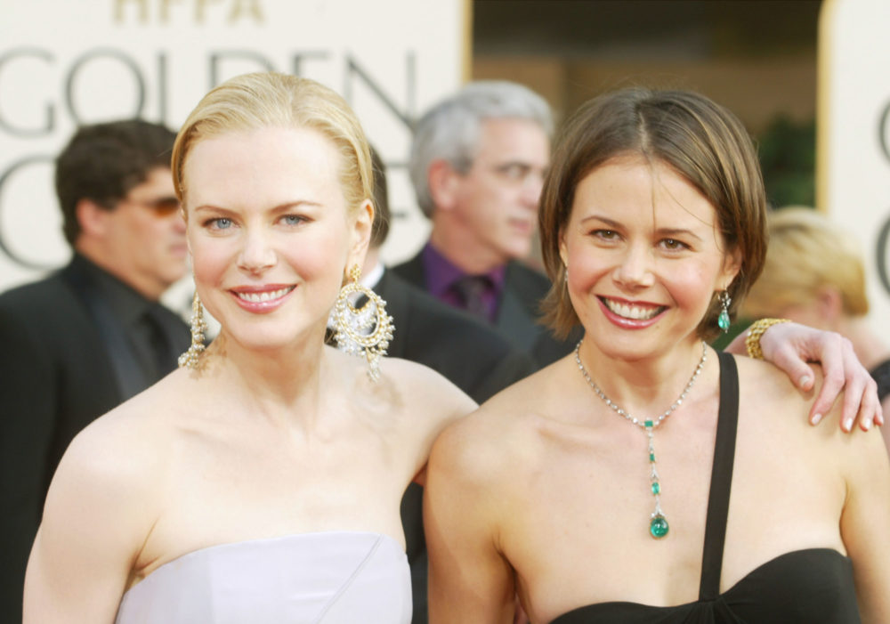 We need to talk about Nicole Kidman's sister who is basically her brunette twin