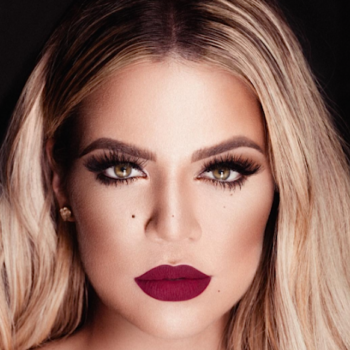 Khloé Kardashian models lipsticks from her collab with Kylie and they look GORGE