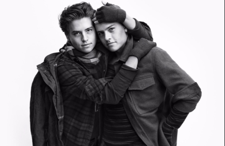 Dylan and Cole Sprouse are now American Eagle models and HOT DAMN