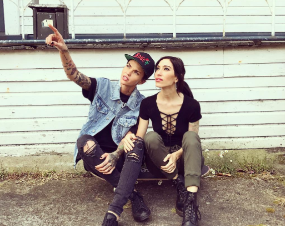Ruby Rose is back together with Jess Origliasso from The Veronicas, and our hearts are aflutter