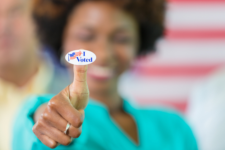 "If you show up at these places with an ""I Voted"" sticker, you can get free stuff and discounts"