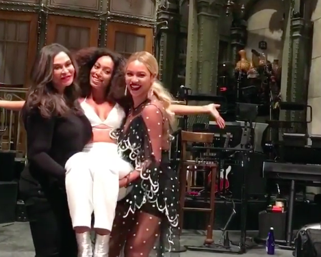 """Beyoncé and Solange's post-SNL photos prove they should star in """"Sister, Sister 2"""""""