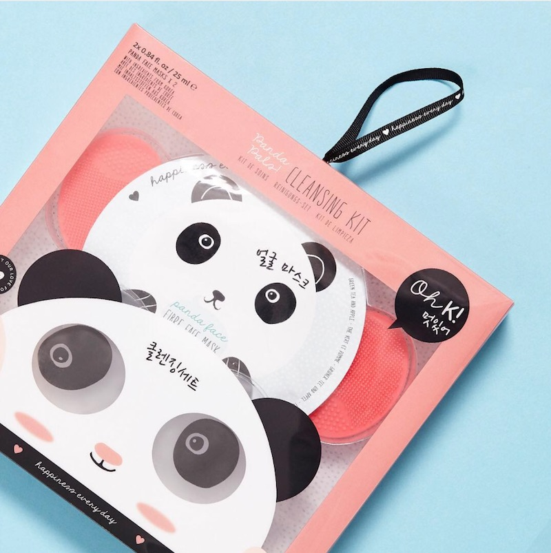 Our skincare regimen is about to get ten times cuter with this panda mask set