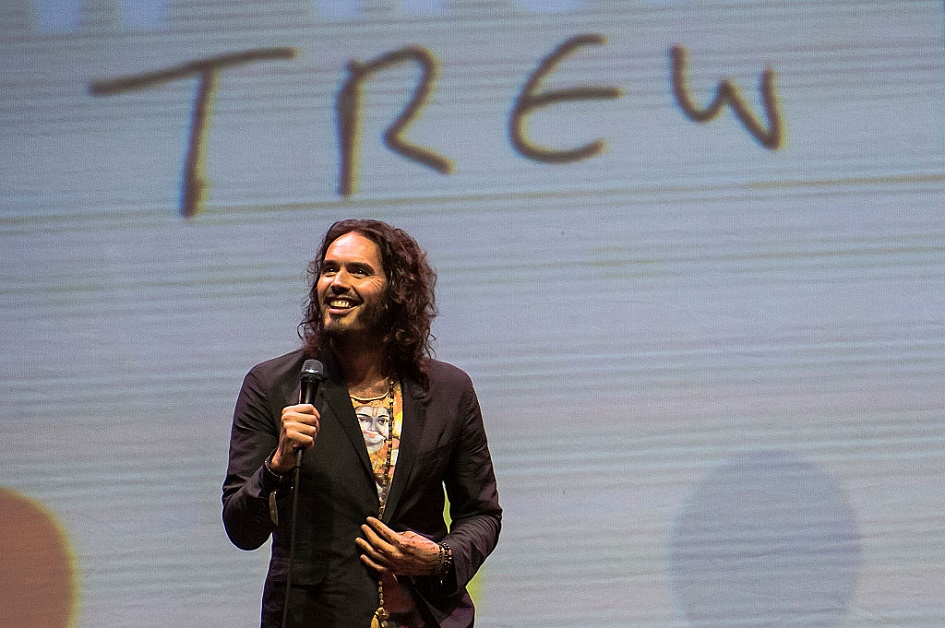 OMG, Russell Brand is officially a dad!