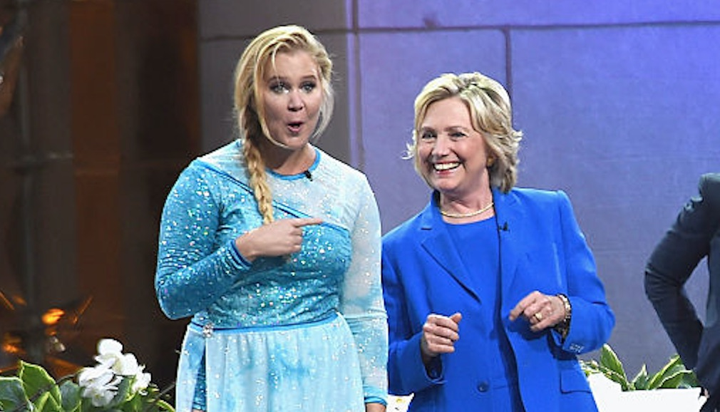 Amy Schumer's playful pics with Hillary Clinton remind us why we love them both