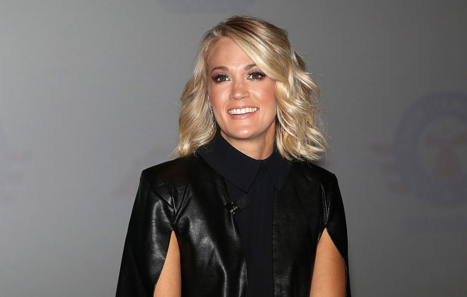 While Carrie Underwood is happily married, you'll never guess who she's crushing on