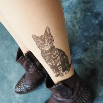"""These """"tattoo tights"""" are the perfect sneaky ink substitute, and we need them in our lives"""