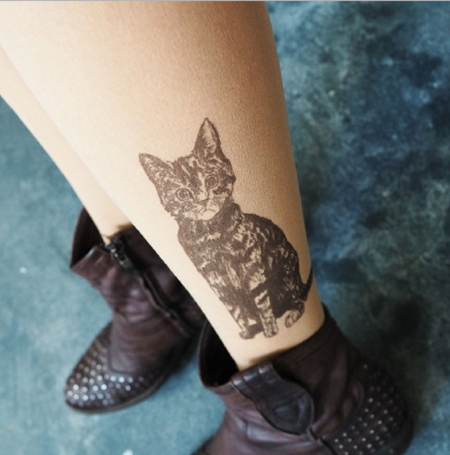"These ""tattoo tights"" are the perfect sneaky ink substitute, and we need them in our lives"
