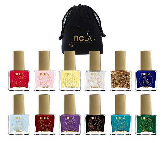 NCLA's latest polish collection was made for those who are obsessed with the zodiac