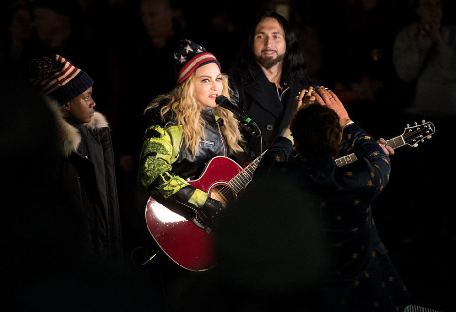 There's footage of Madonna's incredible Hillary Clinton-inspired acoustic concert, and girl's still got it