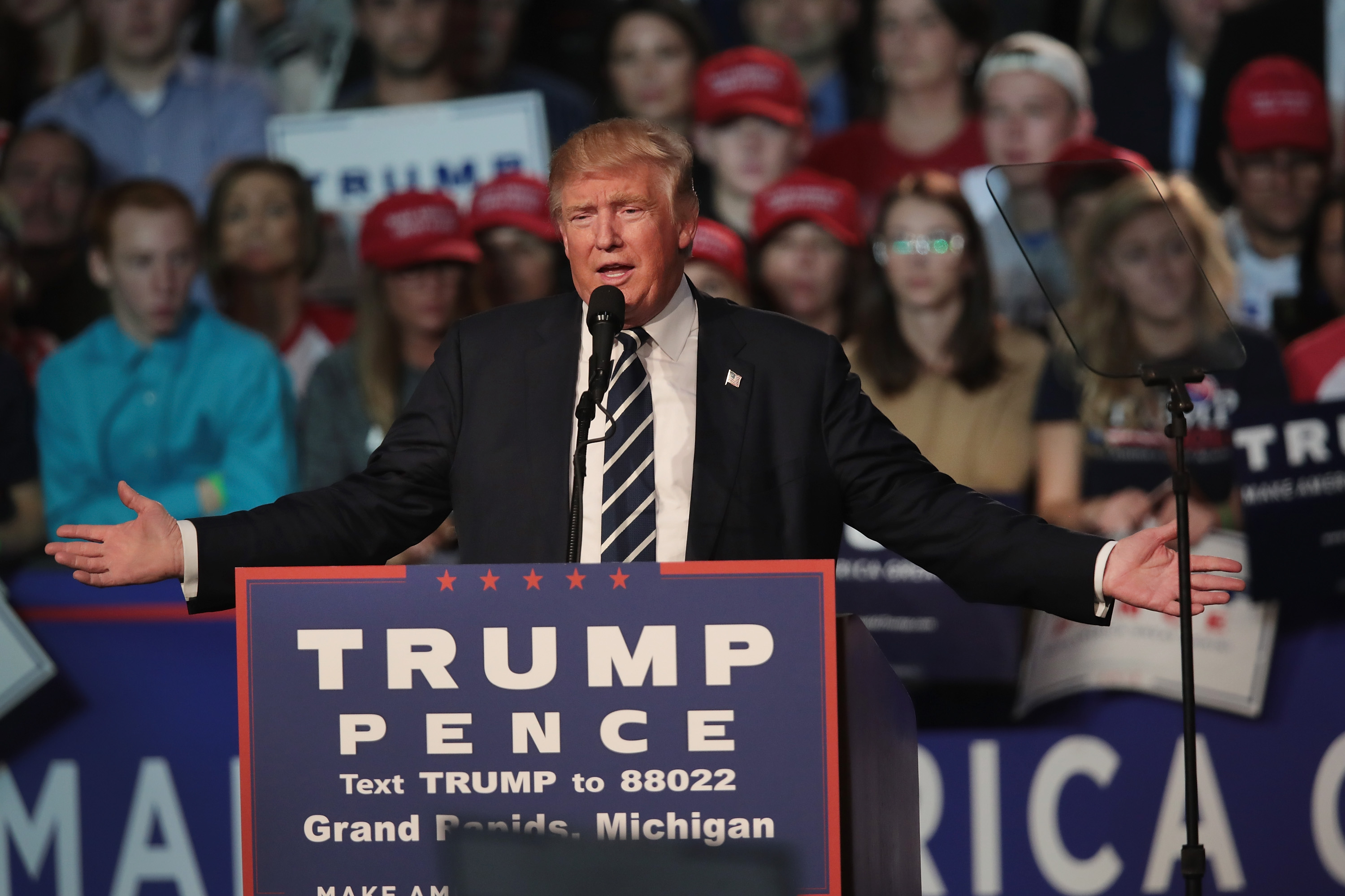Just FYI: Donald Trump just won Indiana, Kentucky, and West Virginia