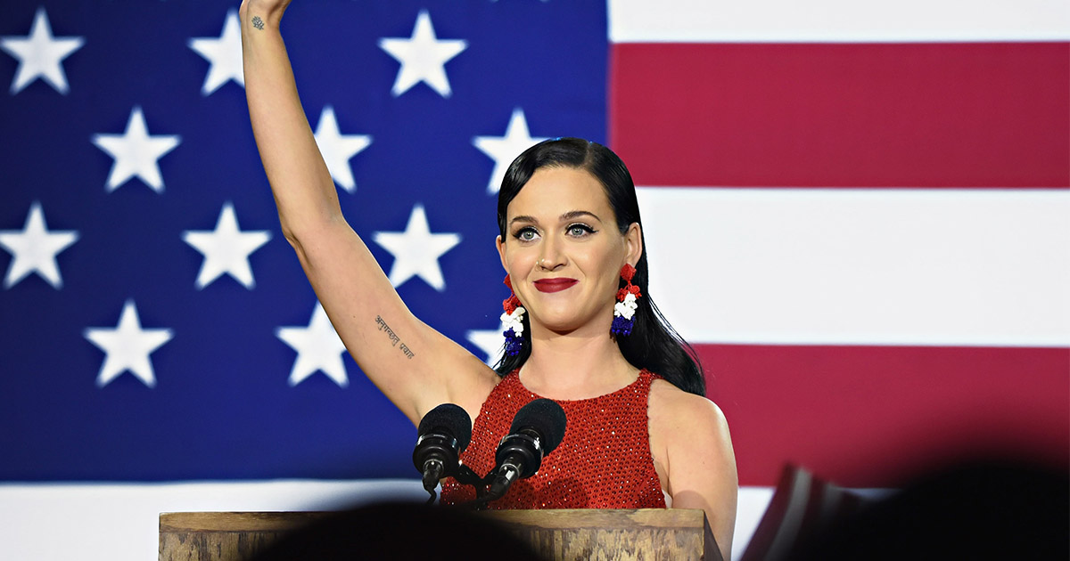 Katy Perry's post-election tweets are so significant regardless of the results