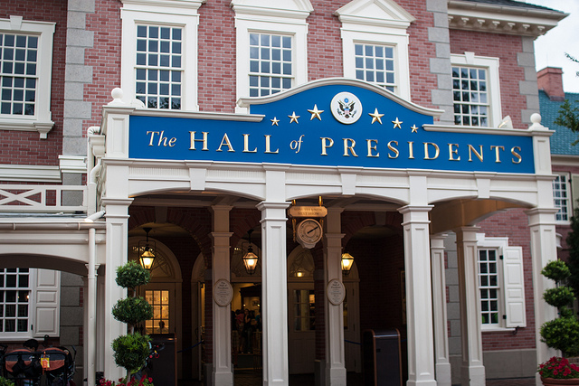 Lots of people are freaking out about The Hall of Presidents at Walt Disney World
