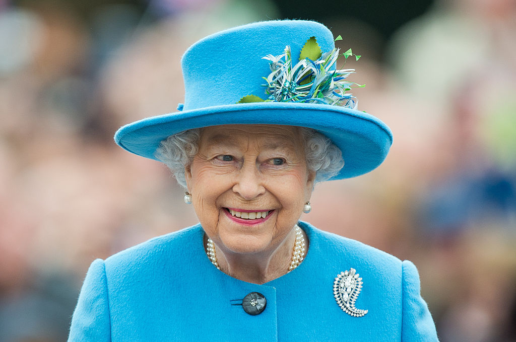 Awesome female leader Queen Elizabeth II keeps our spirits up as she opens a new medical institute