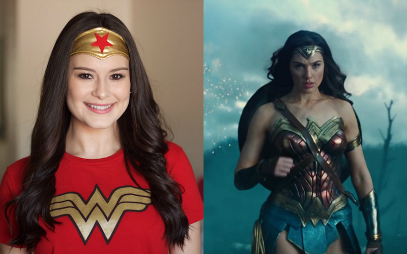"This is how you can recreate four different hairstyles seen in the ""Wonder Woman"" trailer"