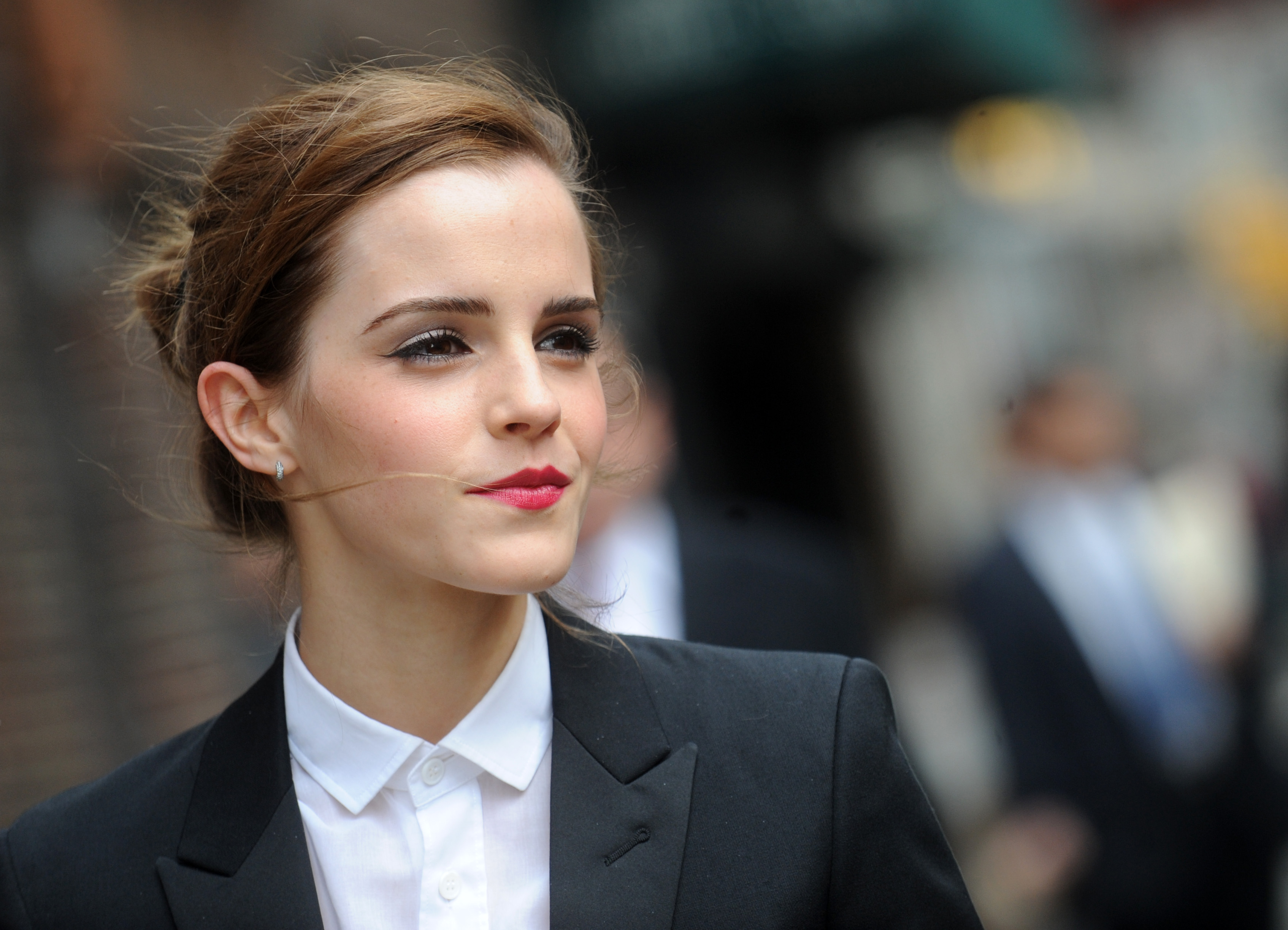 Emma Watson is hiding books on the NYC subway right now, because she knows we need it