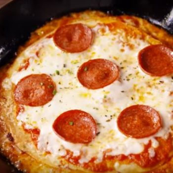 """This glorious """"pizzadilla"""" recipe will help you cook the ultimate comfort food today"""