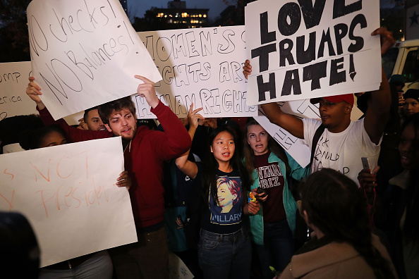 These post-election protests by high school and college students give us hope for the future