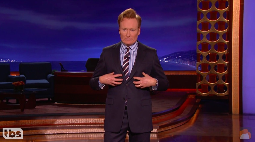If you're feeling down about the election results, Conan O'Brien actually just said the most profound thing and it could help