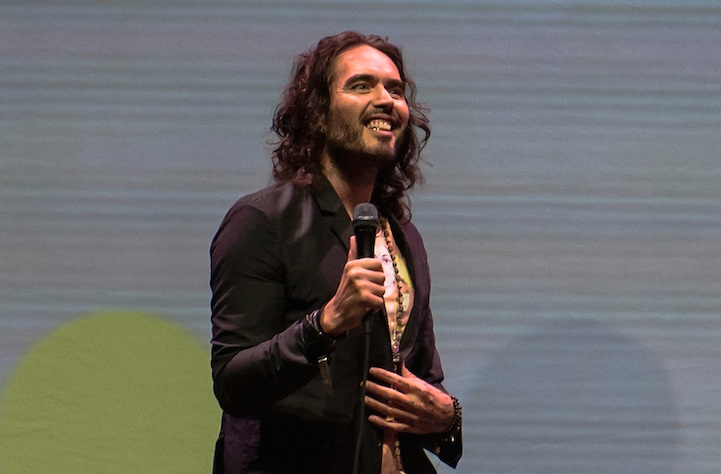 Russell Brand just revealed the name of his baby daughter, and we dig it!