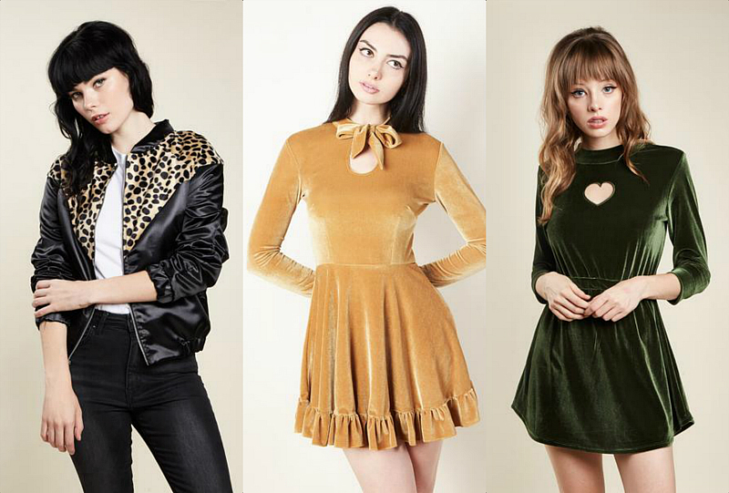 This new holiday collection from Valfre is a stunning, velvety dream