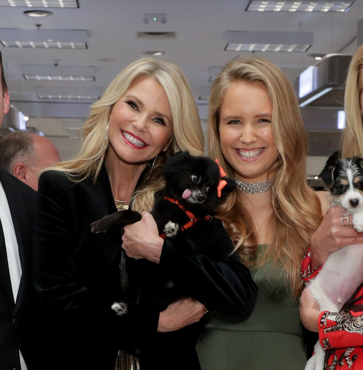 Christie Brinkley and look-a-like daughter Sailor have a mom and daughter day at charity event