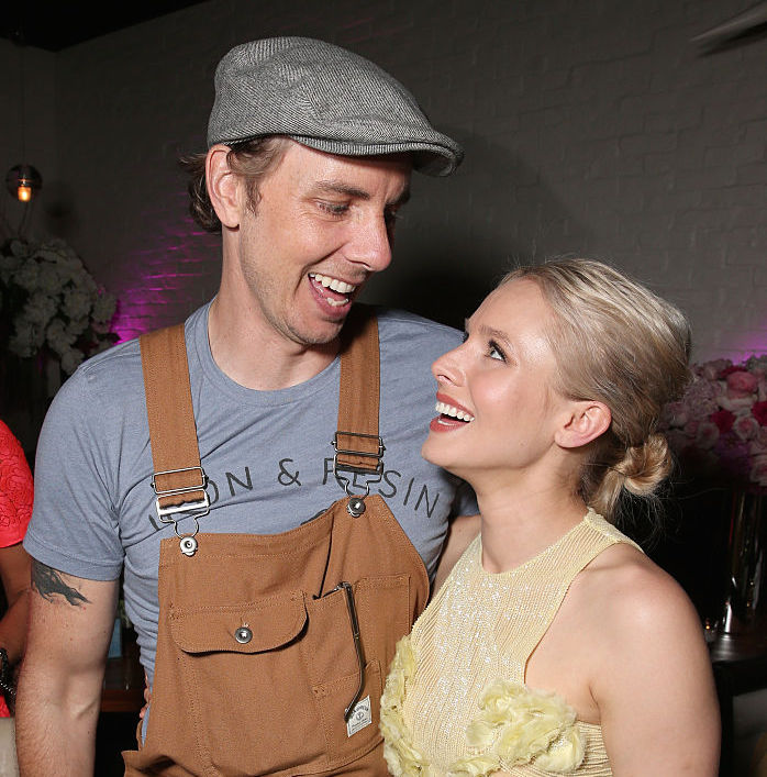 This photo of Kristen Bell and Dax Shepard is making us smile (we could sure use it)