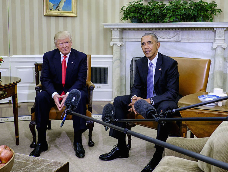 "Obama revealed that his very first meeting with Donald Trump was ""excellent"""