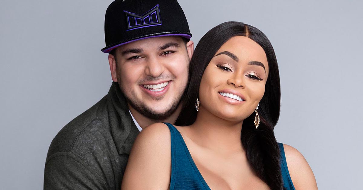 The first picture of Blac Chyna and Rob Kardashian's baby girl is here and OMG it's too cute