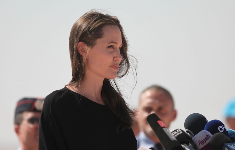 Angelina Jolie just released another statement regarding her situation with Brad Pitt