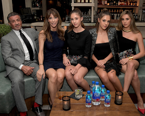 Meet Sylvester Stallone's three model daughters who were all named Miss Golden Globe!
