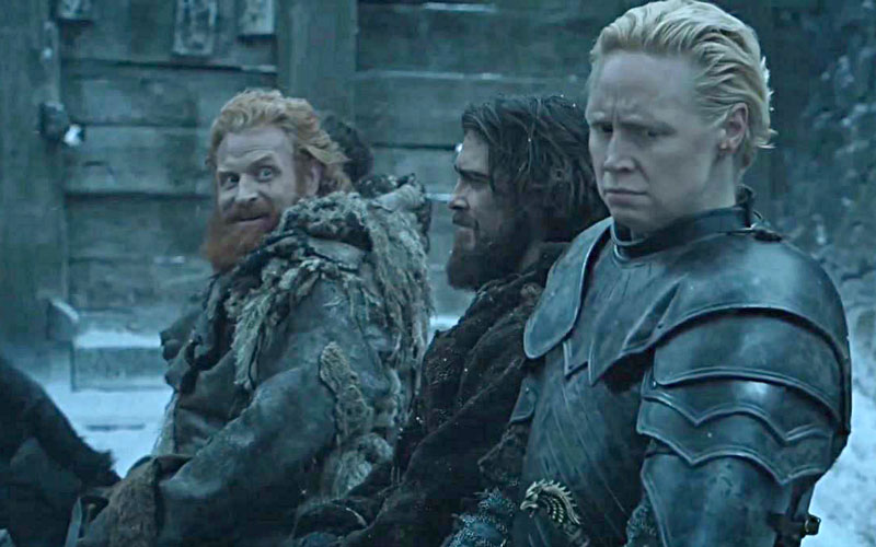 "Tormund just posted the perfect ""Game of Thrones"" Season 7 selfie and this is why we love him"