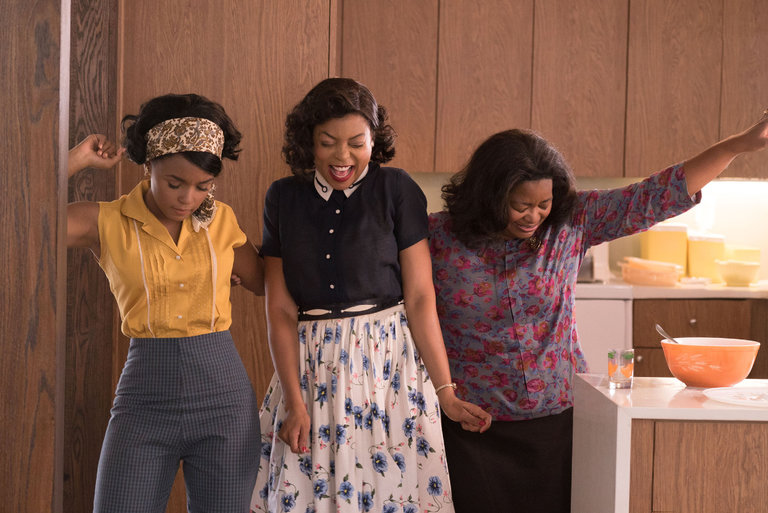 "The leading ladies of ""Hidden Figures"" remind us why telling women's stories is SO important"