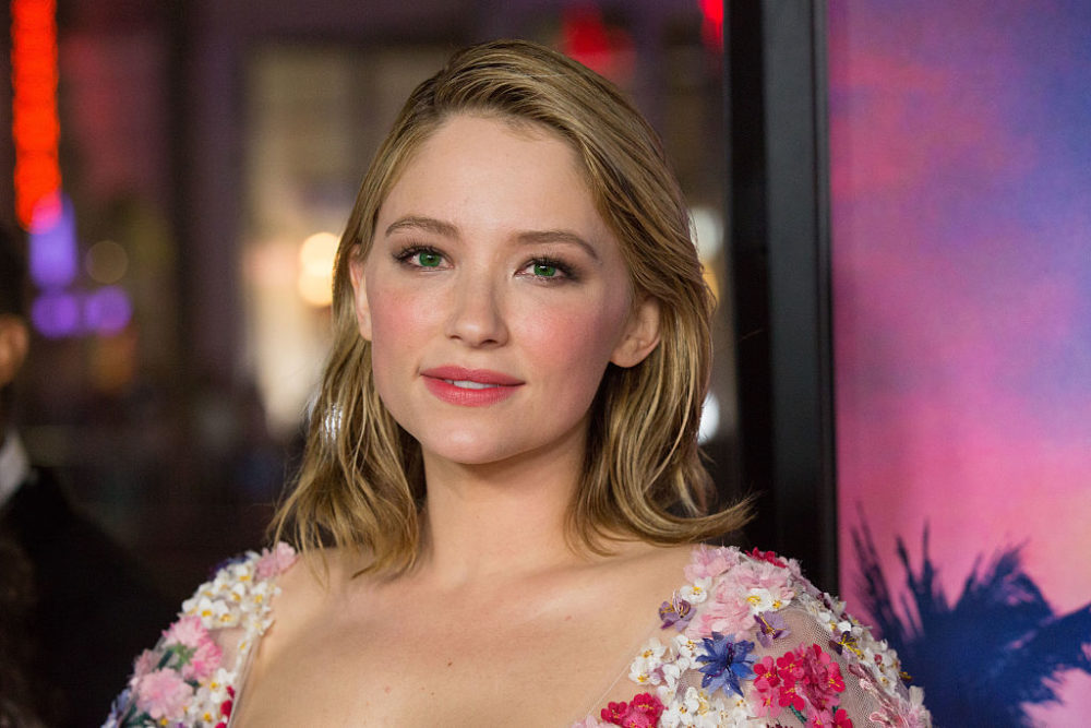 Haley Bennett's floral dress is like nothing we've ever seen on the red carpet and we love it