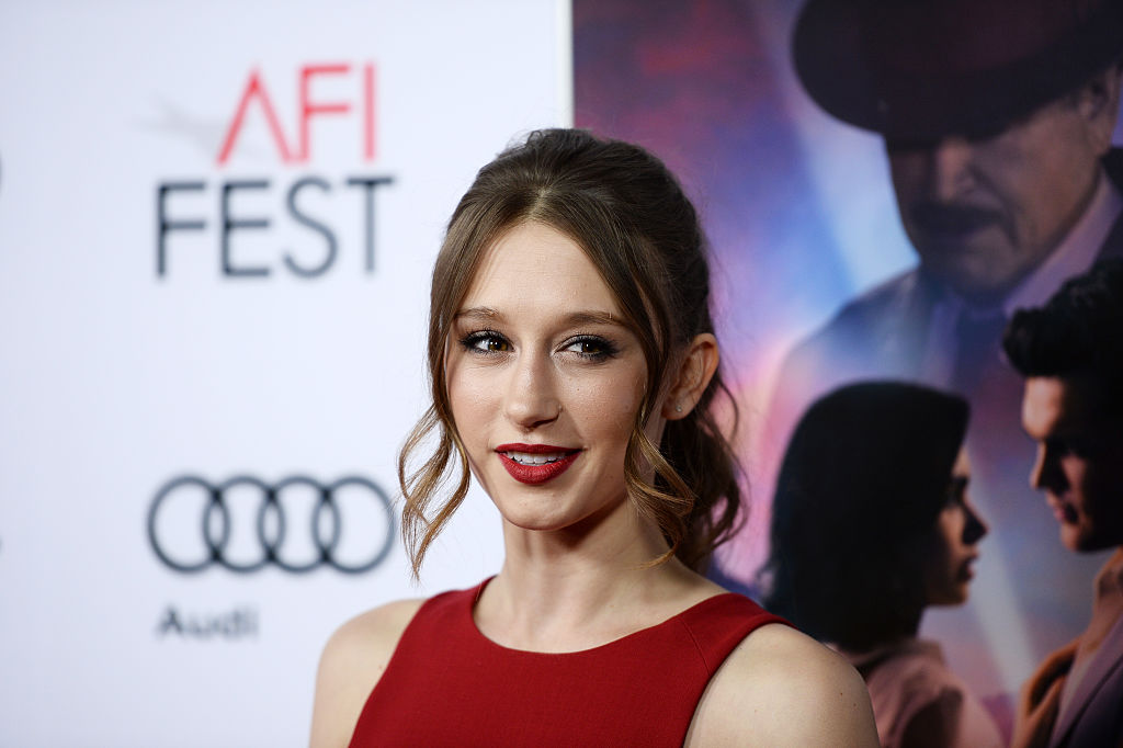 Taissa Farmiga is wearing the dress we absolutely demand for this holiday season