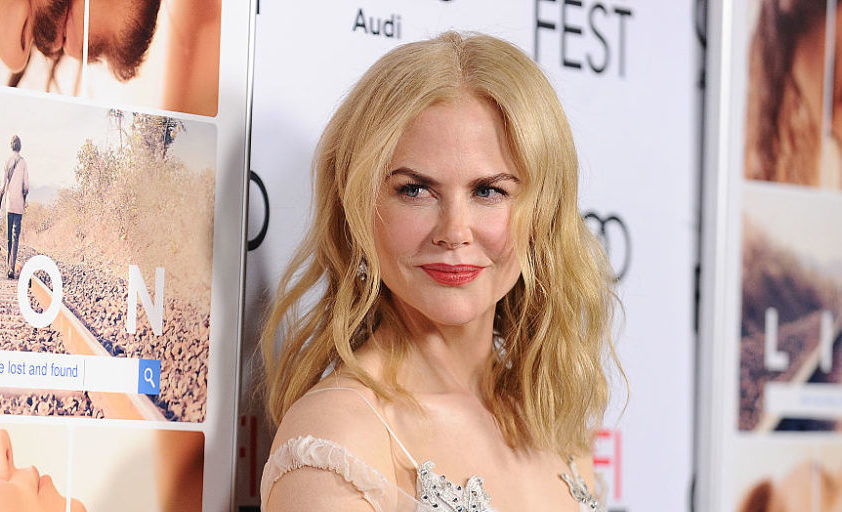 Nicole Kidman hit the red carpet in a dress that's giving us ice princess goals