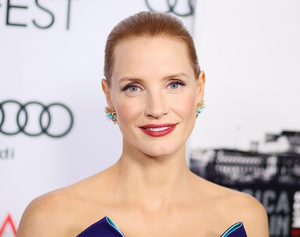 Jessica Chastain is going to play a superhero and it's about darn time