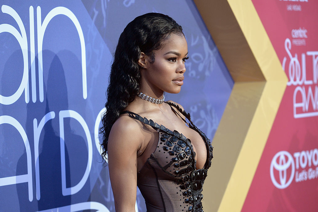Teyana Taylor's White House outfit sent a political message and we're in love