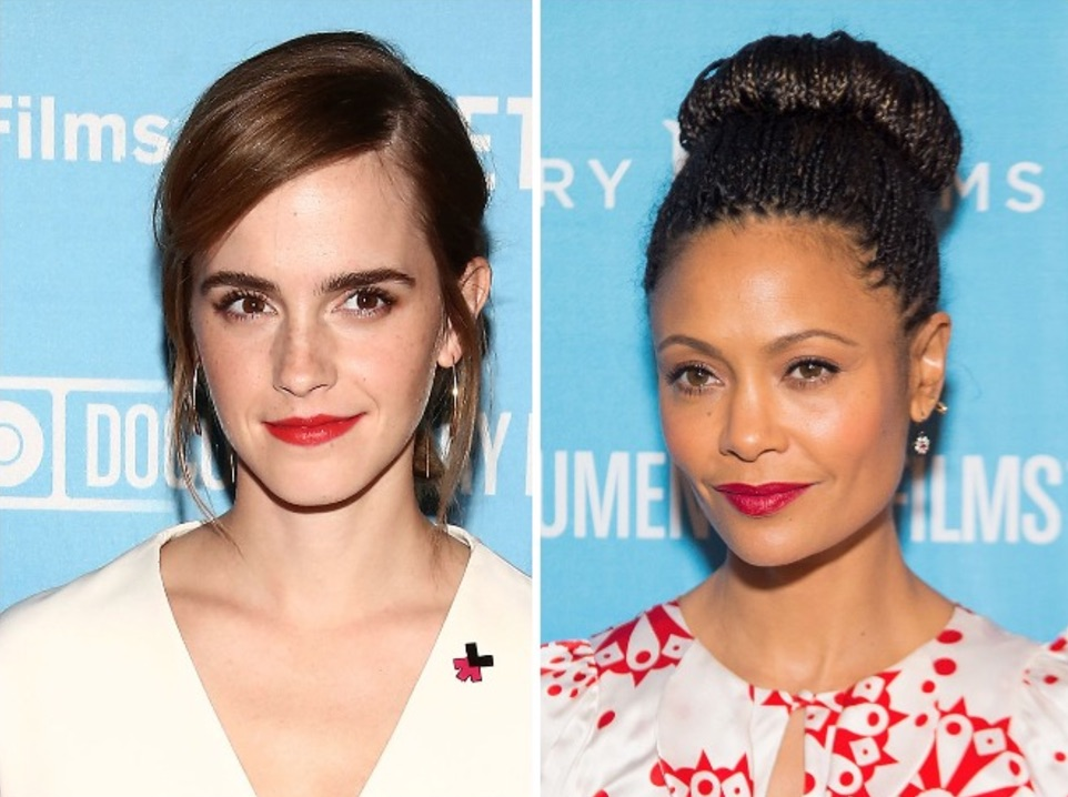 Emma Watson and Thandie Newton just hung out for the best reason and we couldn't love them more
