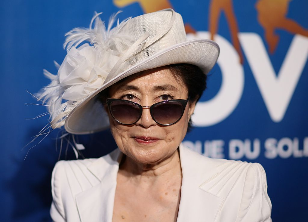 Yoko Ono's response to Donald Trump's presidency is all of us