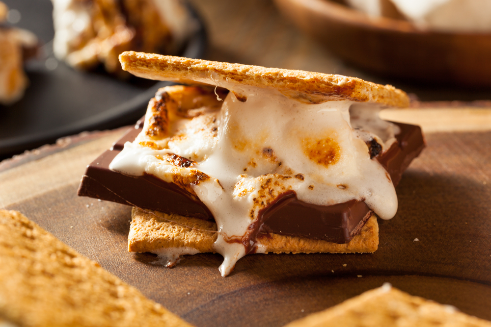 11 s'more cakes because s'mores can only be improved with cake