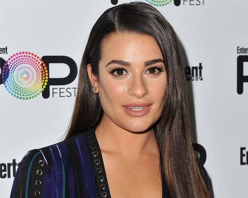 """Lea Michele singing """"Somewhere Over the Rainbow"""" is giving us chills"""